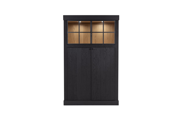 Wood - Glass cabinet