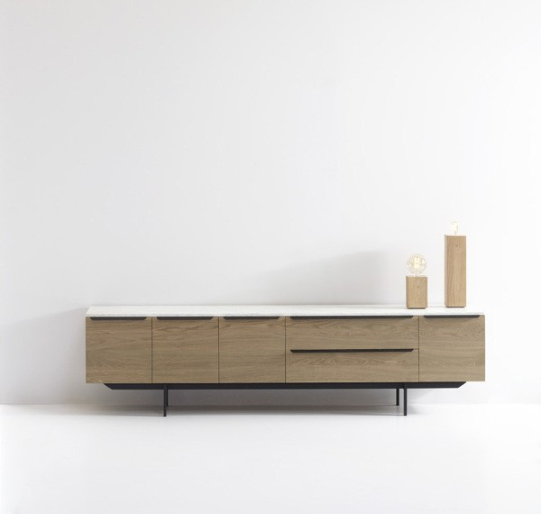 Carrara - TV cabinet