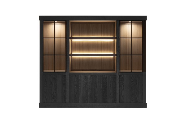 Wood - Wandkast
